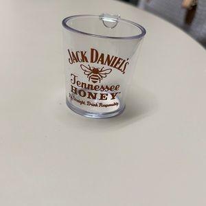Set of 4 Jack Daniels shot glasses